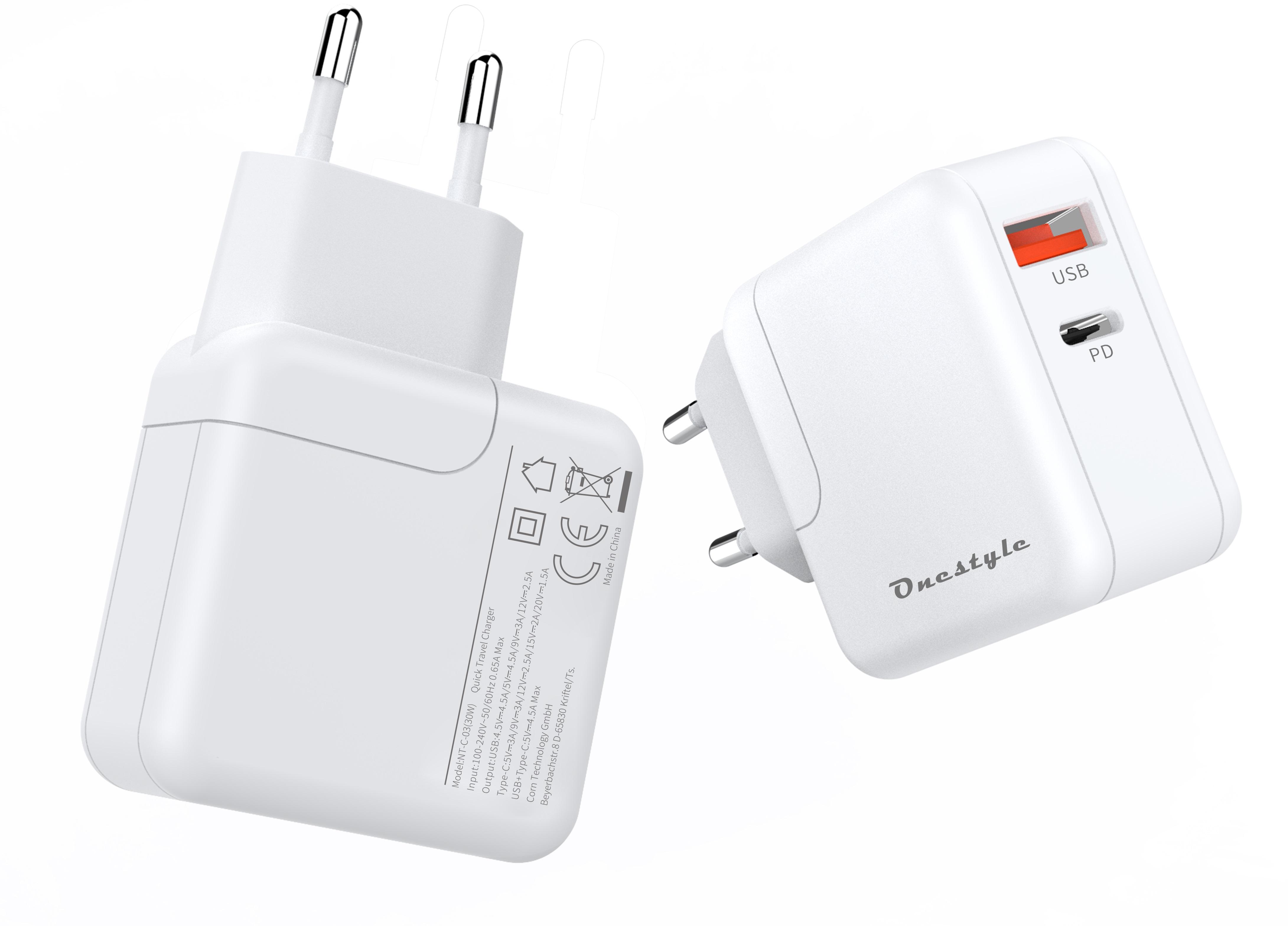 Onestyle NT-C-03 Ladegerät Universal 30 Watt